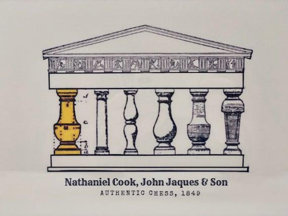 Autentic Chess: Nathaniel Cook, John Jaques & Son. Jaques Staunton