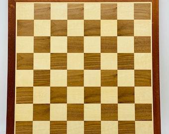 Walnut Marquetry Chess Board