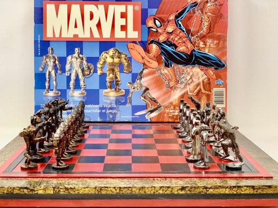 Chess Marvel Superheroes