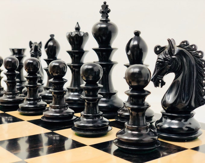 Featured listing image: Waterford Ebony Club Chess