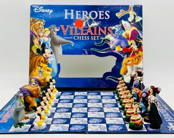 Disney Chess Heroes and Villains