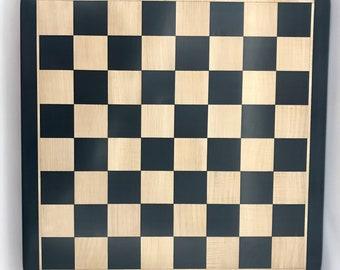 Ebony chess board luxury
