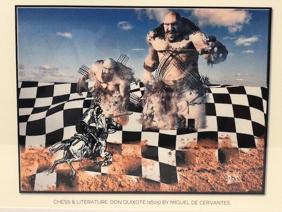 Chess & Literature. Don Quijote