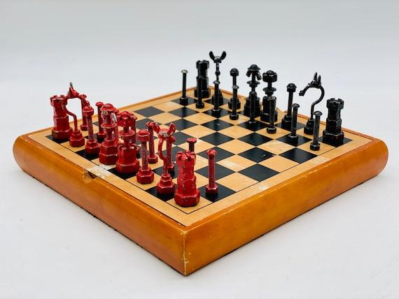 SteamPunk Chess. Art Chess