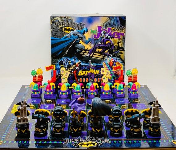Chess Batman vs Joker