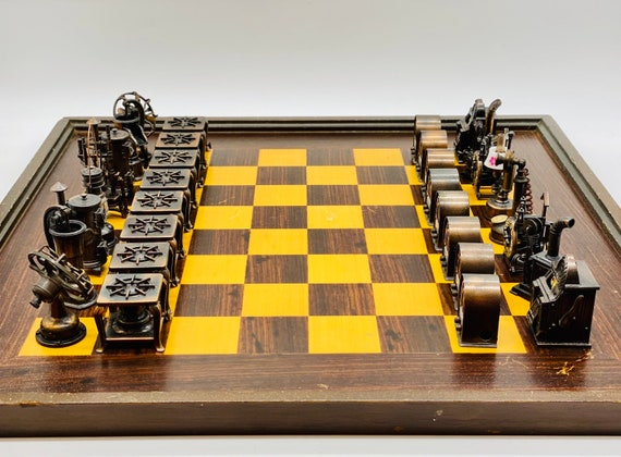 SteamPunk Chess from Sharpeners
