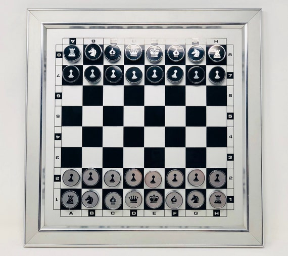 Decorative Chess Picture Magnet