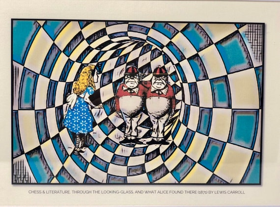 Chess & Literature. Through the Looking-Glass, and What Alice Found There (3). Lewis Carroll.