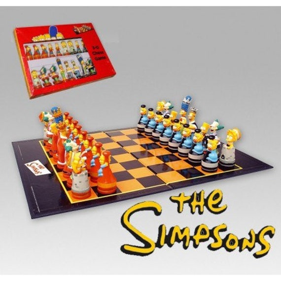 Chess The Simpsons