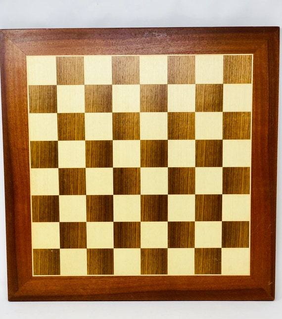 Rosewood Vintage Chess Board