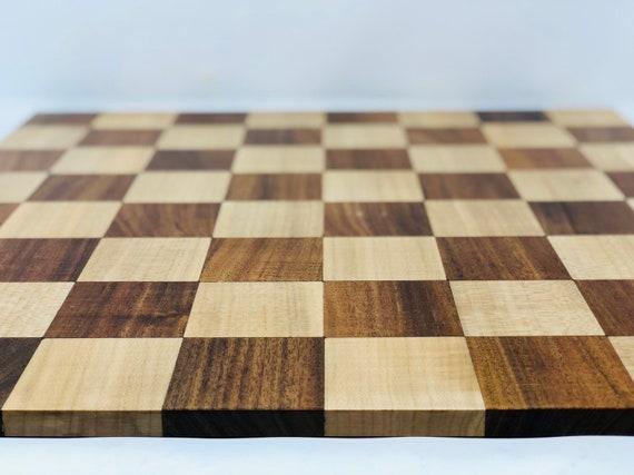 Luxury Double-Faced Hazel Chess Board