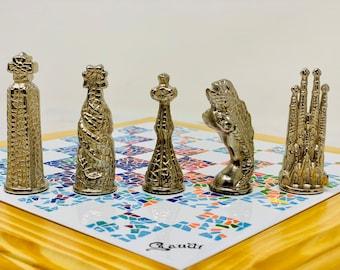 Gaudí Barcelona Modernist Chess