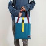 """Colourful Padded Laptop Sleeve 15.6"""", Laptop Sleeve With Strap Handles By Uriel Studio"""
