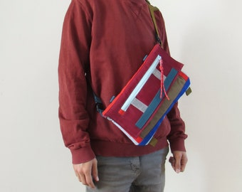 Bike bag, Small Crossbody Bag, Waist Bag, By Uriel Studio