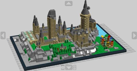 Lego Hogwarts Castle Digital Instructions