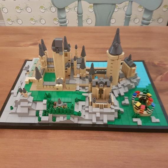 Lego Hogwarts Castle Digital Instructions Etsy
