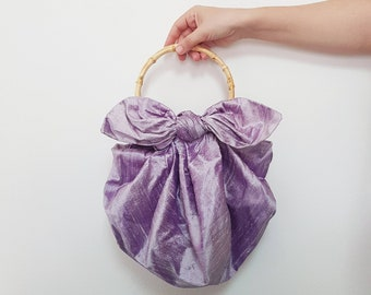 The Cloud Bag in Lilac