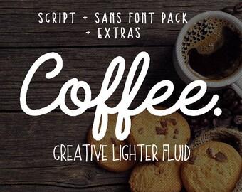 Calligraphy font download, Digital font, Handwritten font, Modern calligraphy font, Cursive font bundle, downloadable script