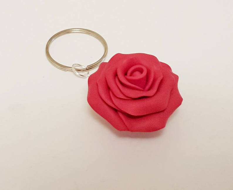 Planner Accessories Rose Flower Charm Elegant Red Rose Planner Charm