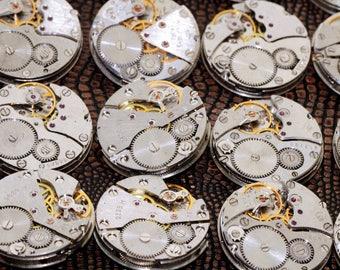 MECHANISMS Movements Men's 26 mm Watch Parts Steampunk Arts Handmade