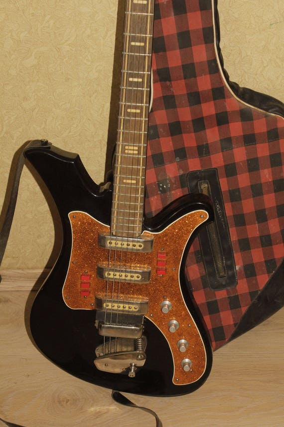 AELITA e-Gitarre sowjetischen Vintage gemacht in UdSSR