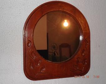 mirror frame, wooden mirror frame, handmade