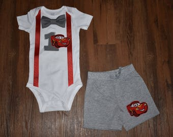 Cars Inspired Birthday Outfit