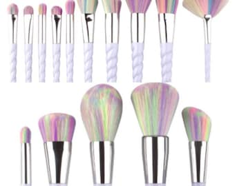 SALE!!! Unicorn Makeup Brushes VEGAN and Cruelty Free Multi Makeup Brushes. 10% sales donated to Breast Cancer