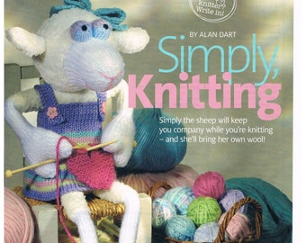 Alan Dart Knitting Pattern for a Noddy Toy Doll Pages Extracted from Woman/'s Weekly Magazine