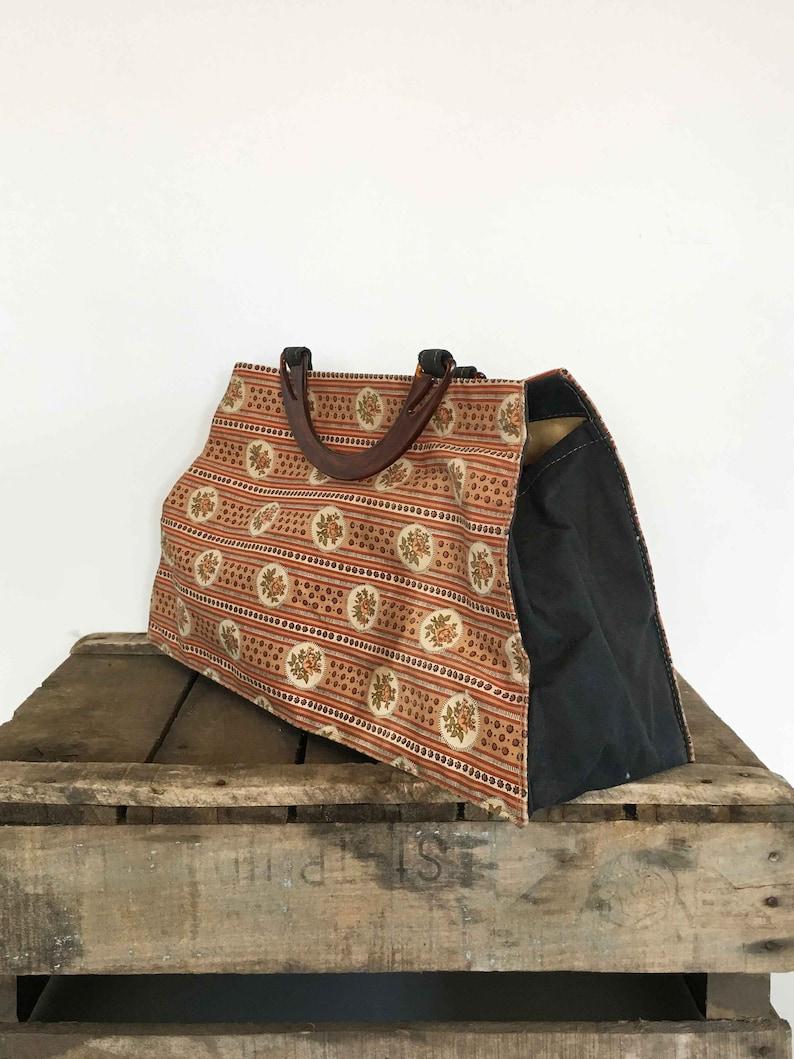664139d9070 Handgemaakte vintage handtas handmade bag vintage handbag | Etsy