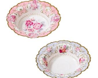 Vintage Style Afternoon Tea bowls