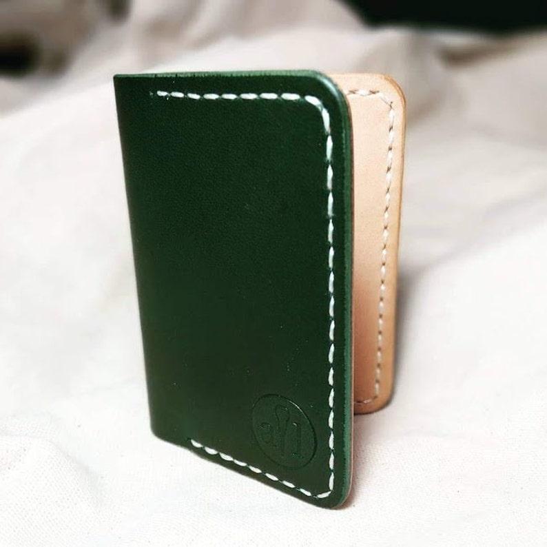 The Juniper a Luxury Leather Business Cardholder Minimalist  3137e1c61dfca