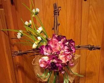 Funeral Graveside Cross