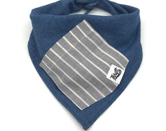 Stripe Treat Pocket Dog Bandana