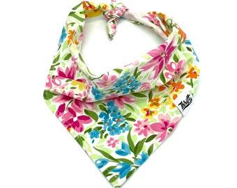 Floral Wallpaper Dog Bandana