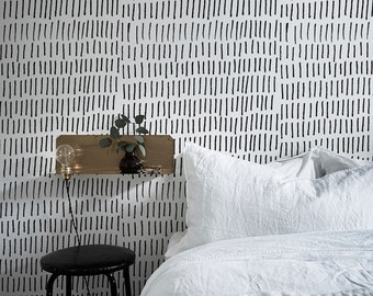 Removable Wallpaper Scandinavian Temporary Minimalistic Peel And Stick Wall Paper Boho