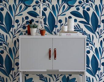 Removable Wallpaper, Scandinavian Wallpaper, Temporary Wallpaper, Minimalistic Wallpaper, Peel and Stick Wallpaper, Wall Paper, Boho - A371