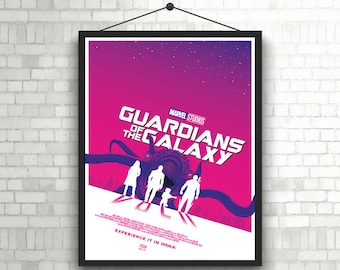 Guardian of the galaxy VOL. 2  minimal movie poster