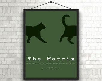 The Matrix artwork movie poster