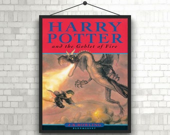 Harry Potter and the Goblet of fire Book cover poster