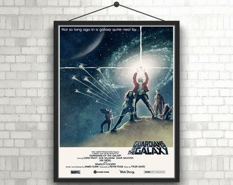 Guardian Of The Galaxy Artwork Poster