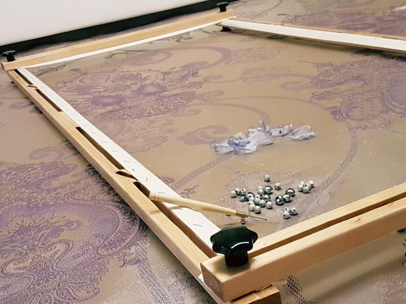 Tambour Embroidery Frame Lunevilletambourcouture Etsy