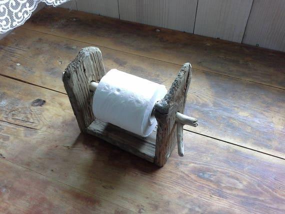 Distributeur Papier Toilette En Bois Flotté Vinnyoleo Vegetalinfo