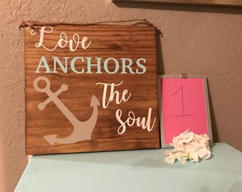 Anchors the soul / christmas by the sea
