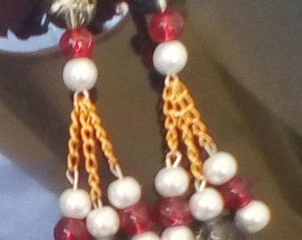 Red earring 3 brenge