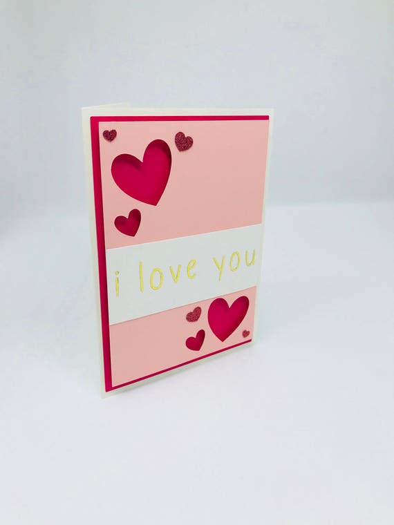 I love you gold foil greeting card i love you greeting card etsy image 0 m4hsunfo