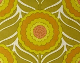 Vintage Wallpaper Sonnenblume per meter