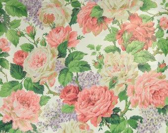 Vintage Wallpaper Rosarot per meter