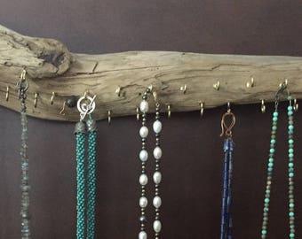 Driftwood Jewelry Rack