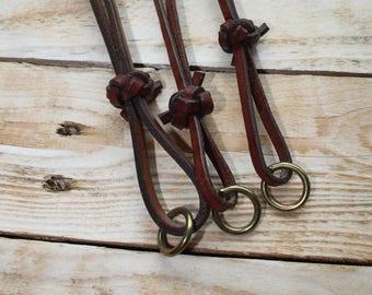 English Leather Whistle Lanyards.